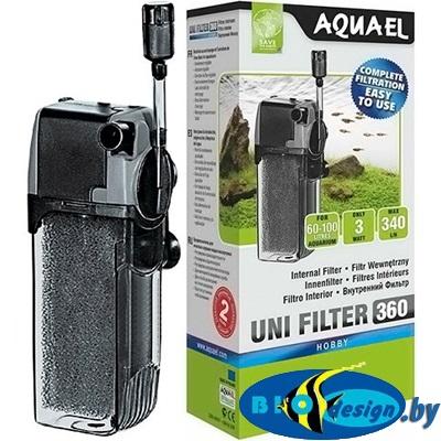 AquaEl Unifilter 360 — внутренний фильтр для аквариумов до 100 литров купить