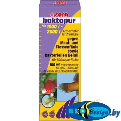 Лекарство для рыб (sera baktopur direct) 100 мл