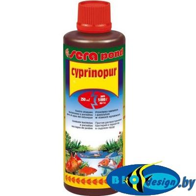 SERA POND CYPRINOPUR 250 мл (против брюшной водянки и карповых вшей)