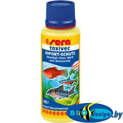 SERA TOXIVEC для нейтрализации ядов в аквариумной воде, 100 мл