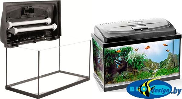 купить в Минске Прямоугольный аквариум AquaEl Classic PAP 80, 112 л