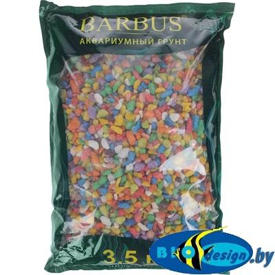 купить Грунт для аквариума Barbus - Цветная Микс, 5-10 мм