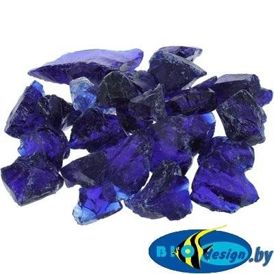 Марблс Barbus Glass 022 кристаллы, фиолетовый, 25-35 мм, 200 г