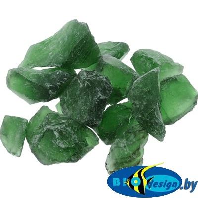 Марблс Barbus Glass 025 кристаллы, зелёный, 25-35 мм, 200 г
