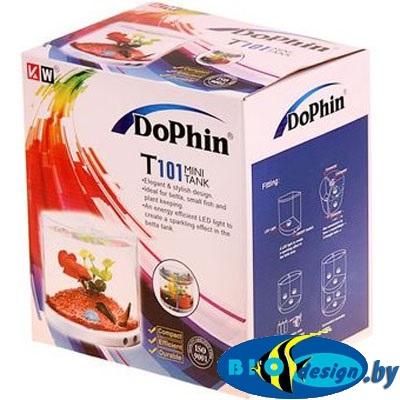 купить Пластиковый аквариум для рыб DoPhin T101