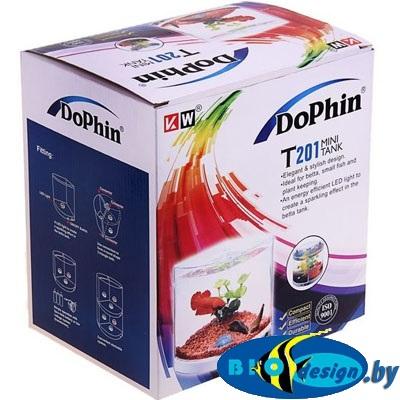 Пластиковый аквариум для рыб DoPhin T201