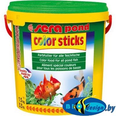 корм для прудовый рыб для окраса купить