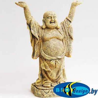 аквариумные декорации в Минске: Декор Стоящий Будда 25 см