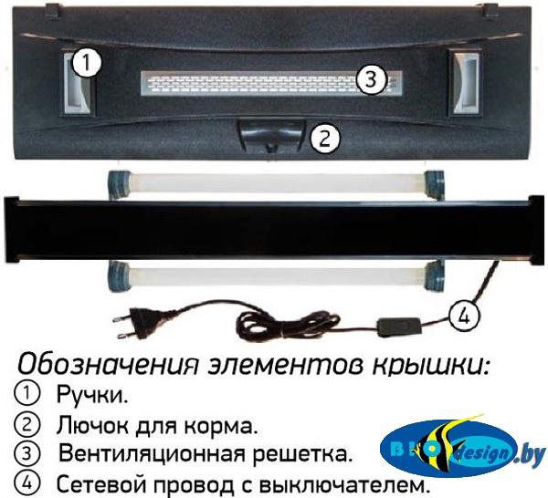 Аквариум AquaElement Оптима 200 литров купить в Минске