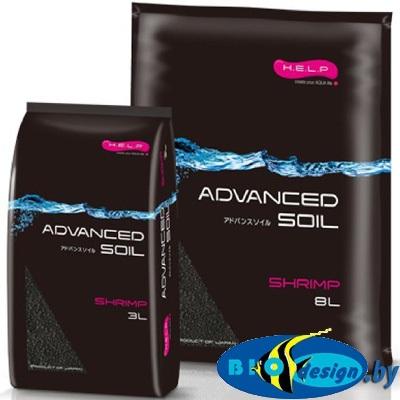 Аквариумный грунт для креветок H.E.L.P. ADVANCED SOIL SHRIMP 3 л