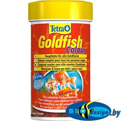 купить Корм Tetra Goldfish Color Flakes 100 мл хлопья