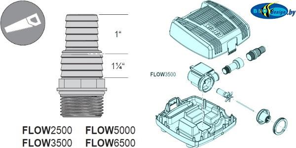 Прудовая помпа EHEIM FLOW 3500 купить в Минске
