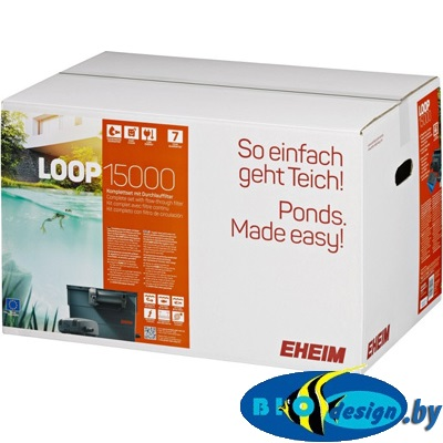 regbnm Прудовый проточный фильтр EHEIM LOOP 15000