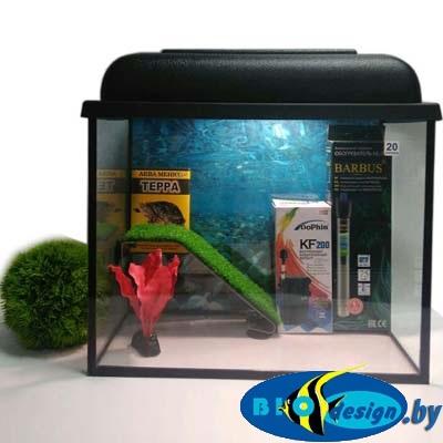 Аквариум для красноухих черепах 20 л купить