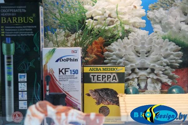 Аквариум для красноухих черепах 25 л купить