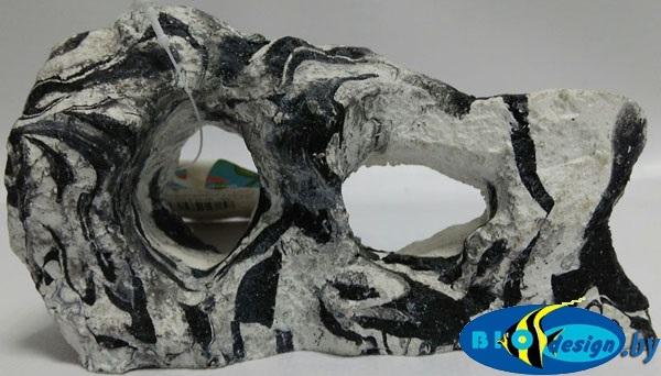 Декоративный камень CANYON ROCKS, черно-белый RR-410