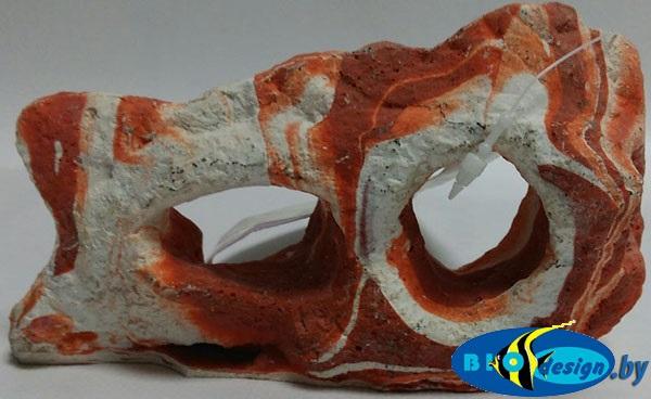Декоративный камень CANYON ROCKS, коричнево-белый small RR-410