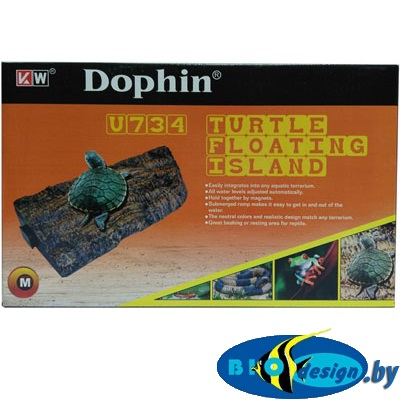 Купить плотик для черепах на магнитах U-734 M (KW)