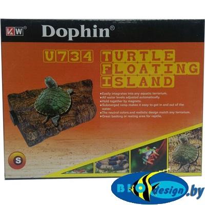 Плотик для черепах на магнитах купить U-734 S (KW)