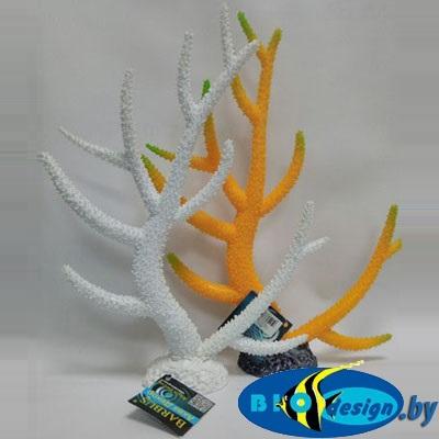 купить Аква декор BARBUS: Пластиковый коралл белый (Decor 258)
