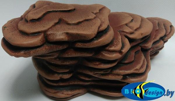Камень для террариума: Подставка для черепах большая суша К-26 коричневый