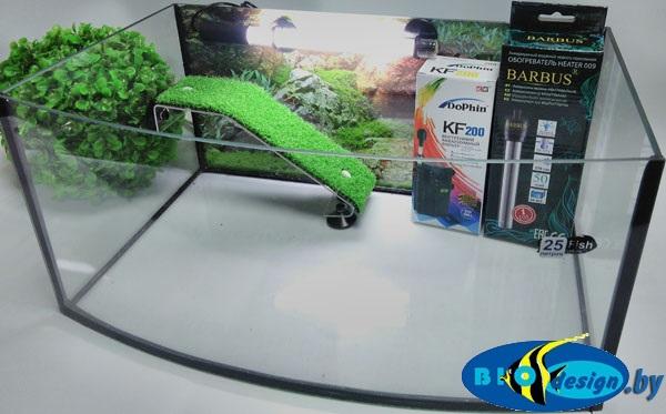 купить Террариум панорама для красноухих черепах ТВ-25 л
