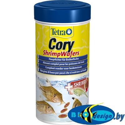 Tetra Cory Shrimp Wafers 100 мл (пластинки) корм для донных рыб