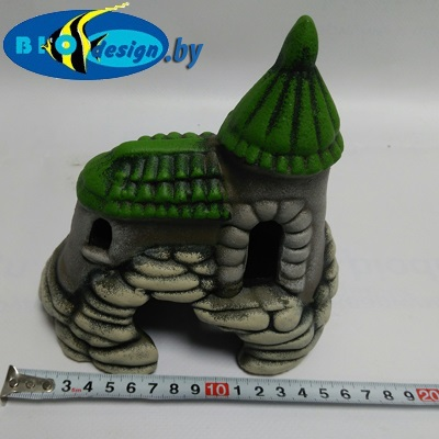 Замок с черепицей К-13