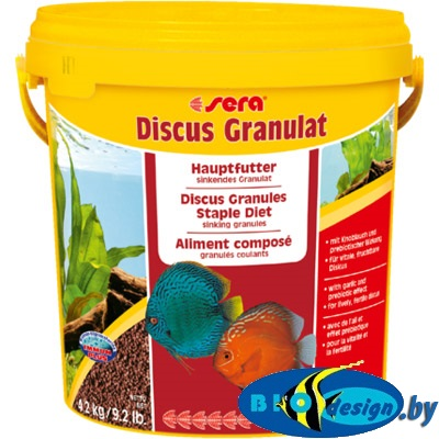 Sera дискус гранулят (sera Discus Granulat) 0,5 литра (расфасовка)