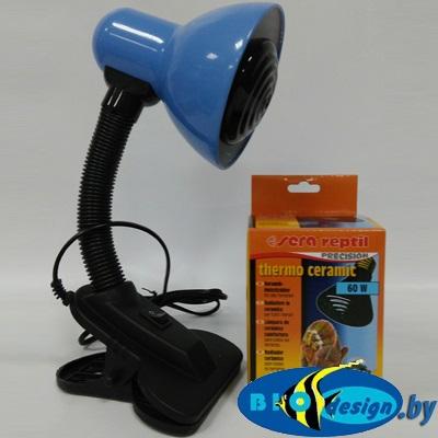 Лампа для террариума (лампа нагреватель 60 Вт) комплект