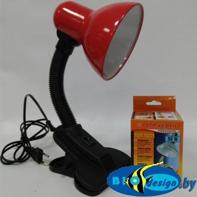 Лампа для террариума (дневной свет) комплект