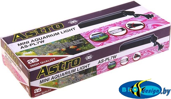 Светильник для аквариума ASTRO AS-PL 7 W (KW)