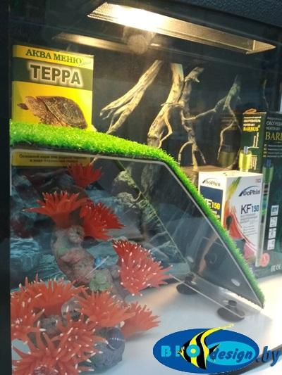 Террариум ТЕЛЕВИЗОР 25 для красноухих черепах (комплект)