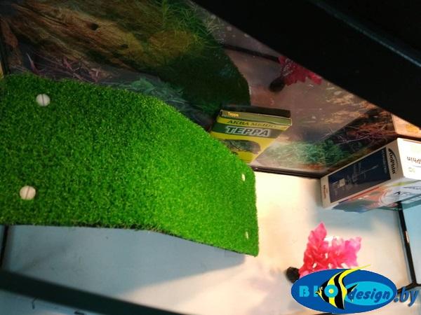Террариум ТЕЛЕВИЗОР 45 для красноухих черепах (комплект)