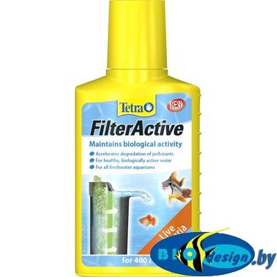 Tetra FilterActive 100 мл, бактериальная культура для подготовки воды