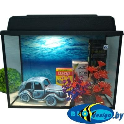 купить аквариум 20 л комплект в Минске