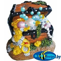 Декорация-распылитель KW Zone U736 Сундук с сокровищами