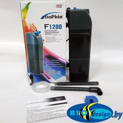 Dophin F-1200 KW фильтр внутренний с регулятором и углем купить