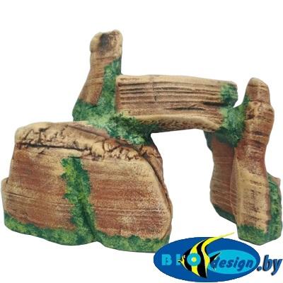 аквариумные декорации в Минске купить Каменный каньон (коричневый) К-100к