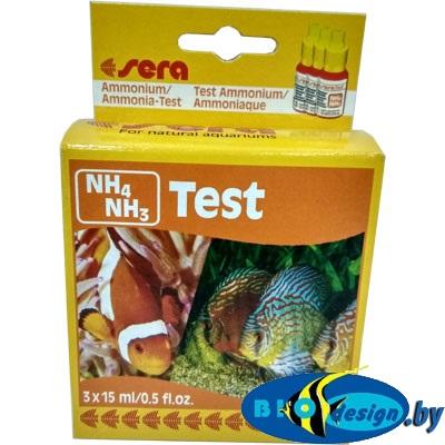 Sera Аммоний/аммиак-тест NH4/NH3-тест (sera Ammonium/Ammoniak-Test NH4/NH3)