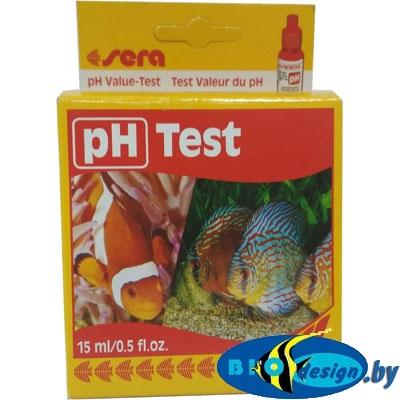SERA pH-тест 15 мл, опр. кислотности воды