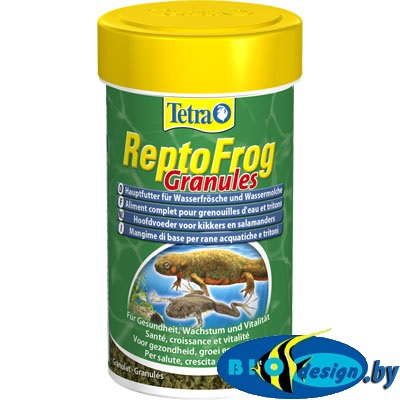 TETRA ReptoFrog Granules 100 мл корм для лягушек и тритонов