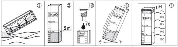 Tetra Test pH тест для аквариума купить
