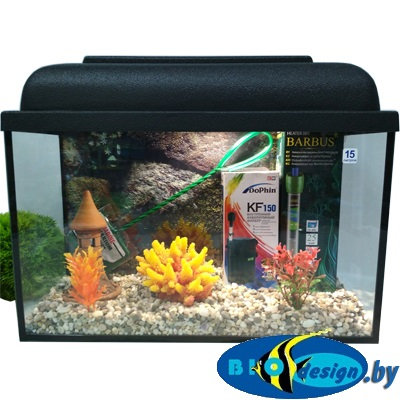 купить аквариум 15 л комплект в Минске