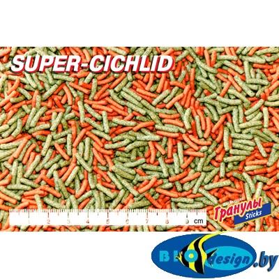Корм Биодизайн Супер Цихлид (расфасовка) 1 литр