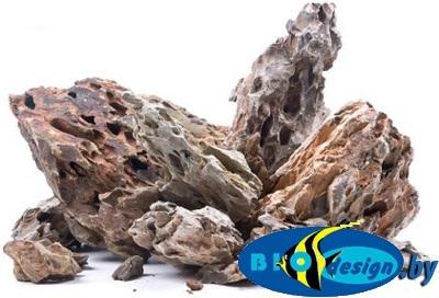Натуральный камень Черный Дракон, 1 кг