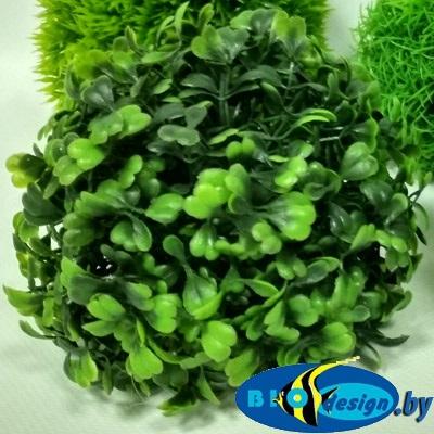 Растение для аквариума пластиковое Шар 2, 10 см