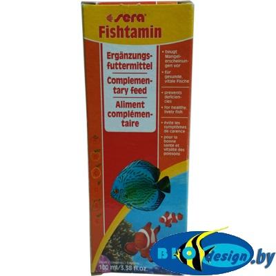 Витамины для рыб Sera Fishtamin 100 мл