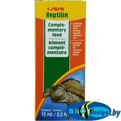 Витамины для черепах Sera REPTILIN 15 мл