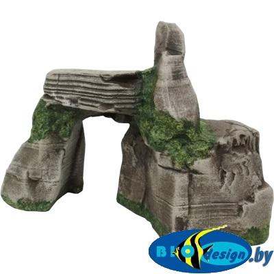 аквариумные декорации в Минске купить Каменный каньон (серый) К-100с